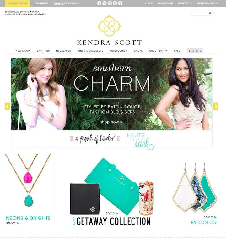 press Southern Charm Homepage