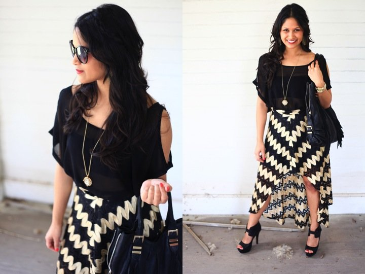 High Black Low Skirts Outfits Photo Images, Skirts Marks