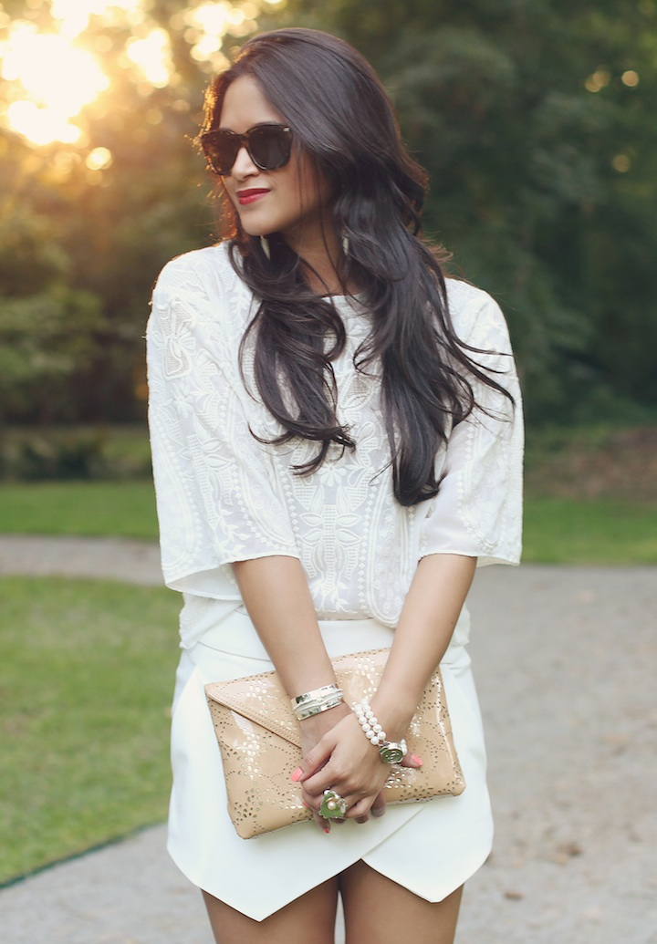white-zara-skirt