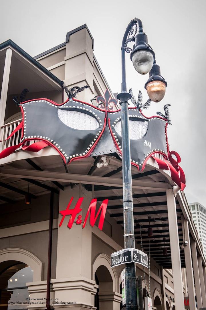 H&M NOLA VIP Masquerade Party & Grand Opening Recap · Haute Off ...