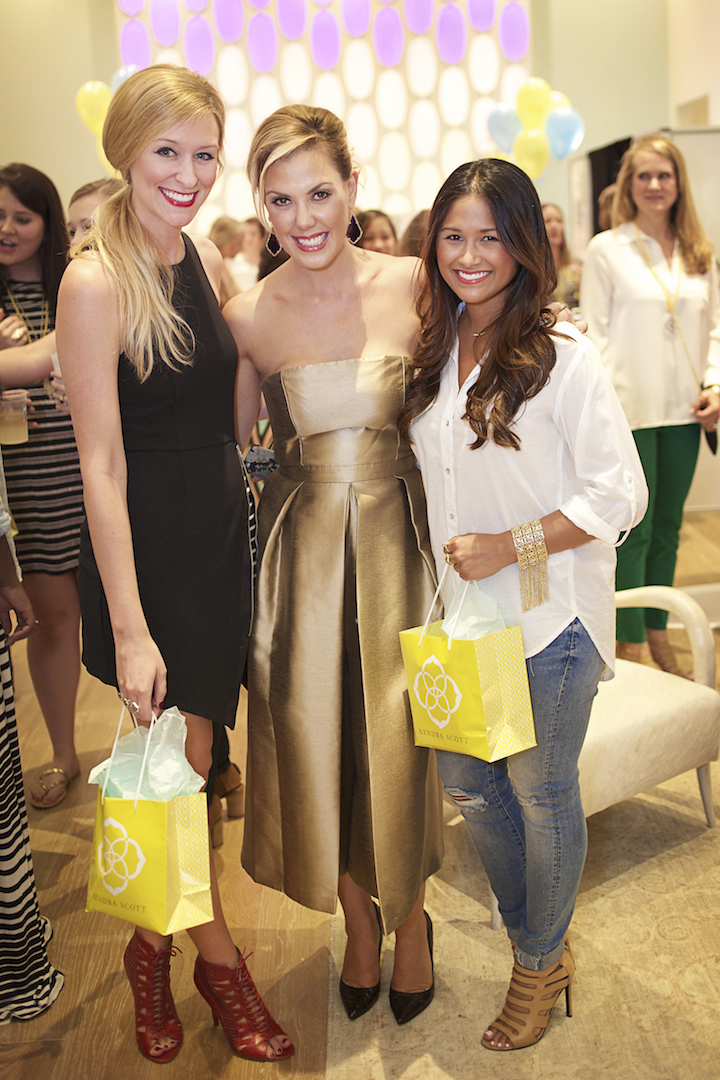Kendra Scott Grand Opening Party On Perkins Rowe Haute