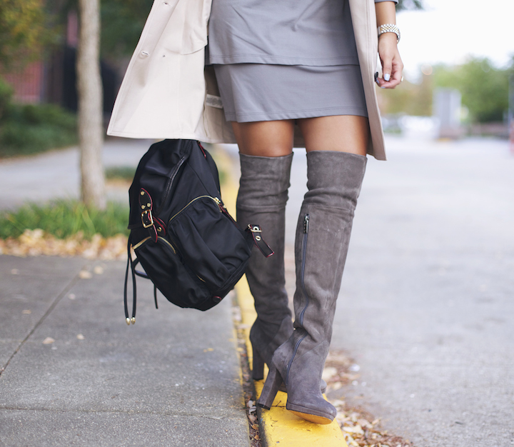The Sleekest Amp Chicest Over The Knee Boots 183 Haute Off The