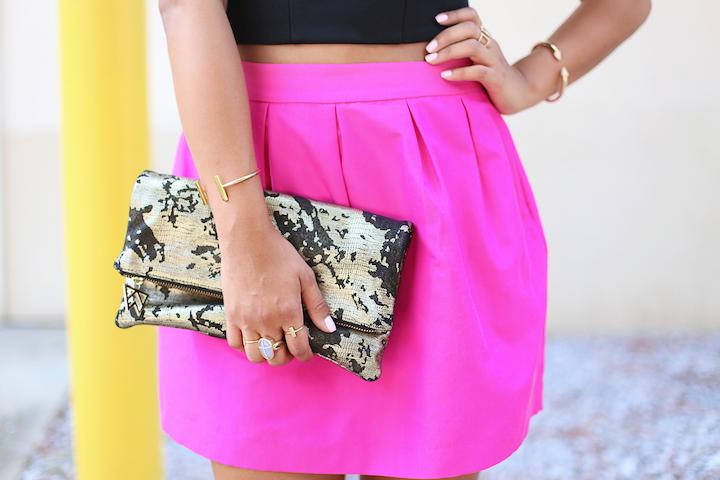 hot-pink-skirt