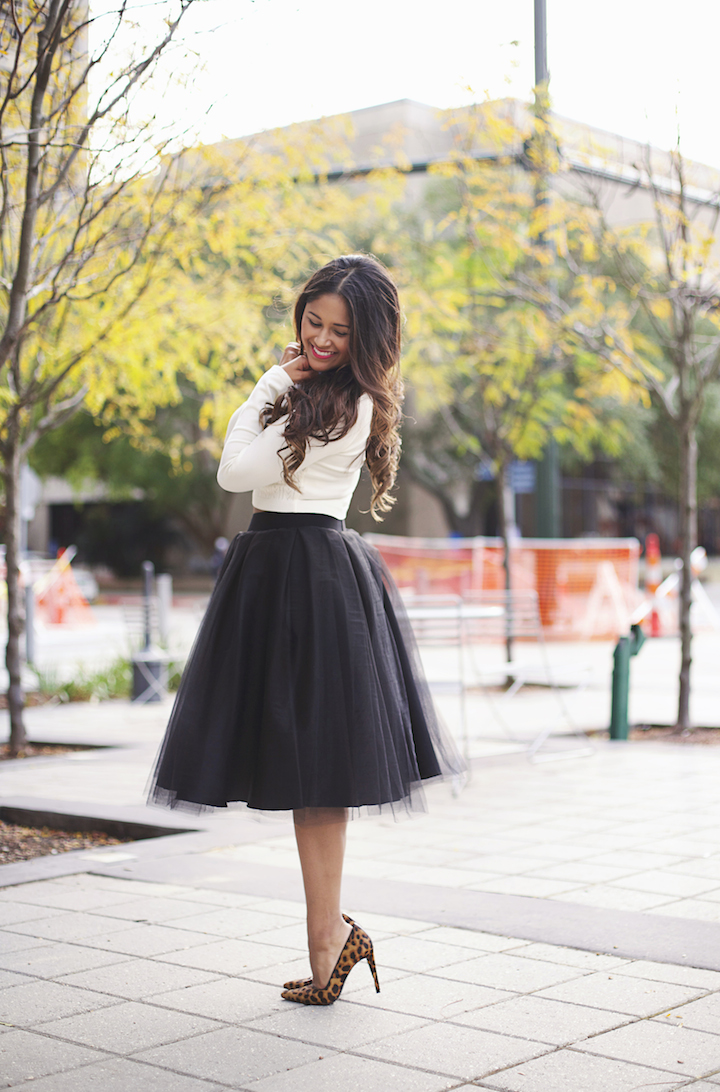 how to wear a tulle skirt Archives · Haute Off The Rack