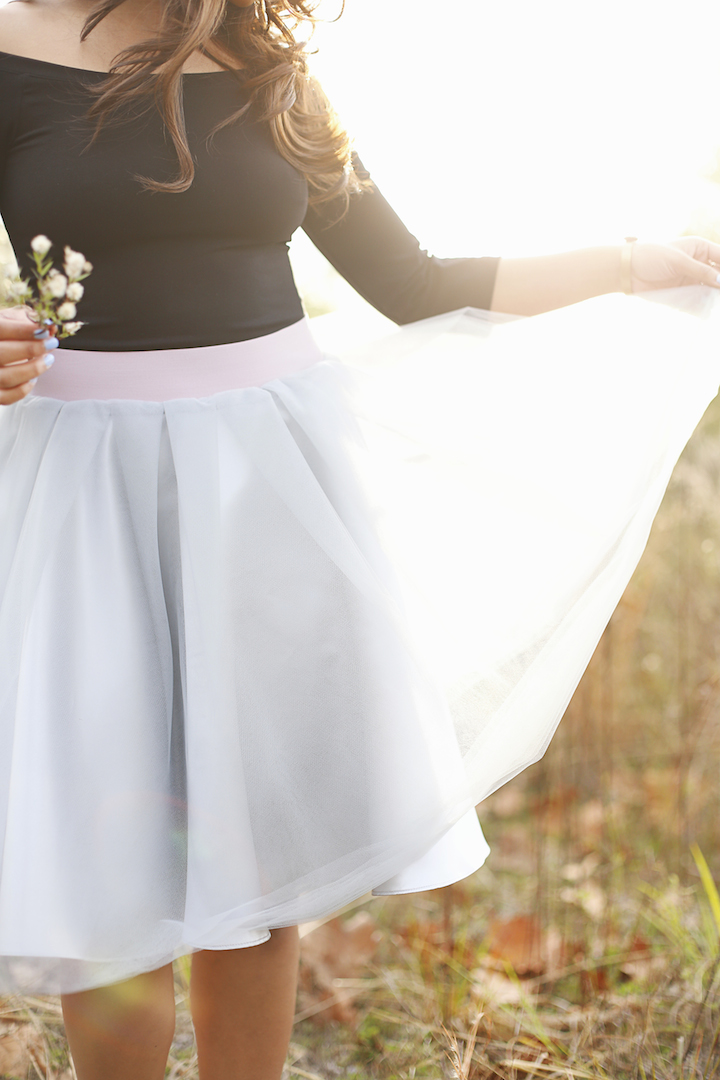 platinum-tulle-skirt