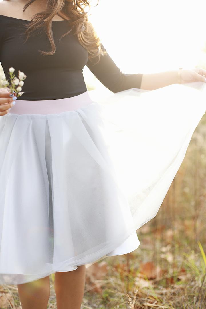 platinum-tulle-skirt