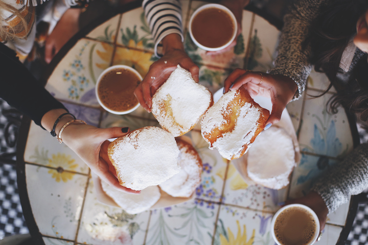 coffee-and-beignets