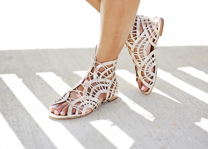 joie gladiator sandals