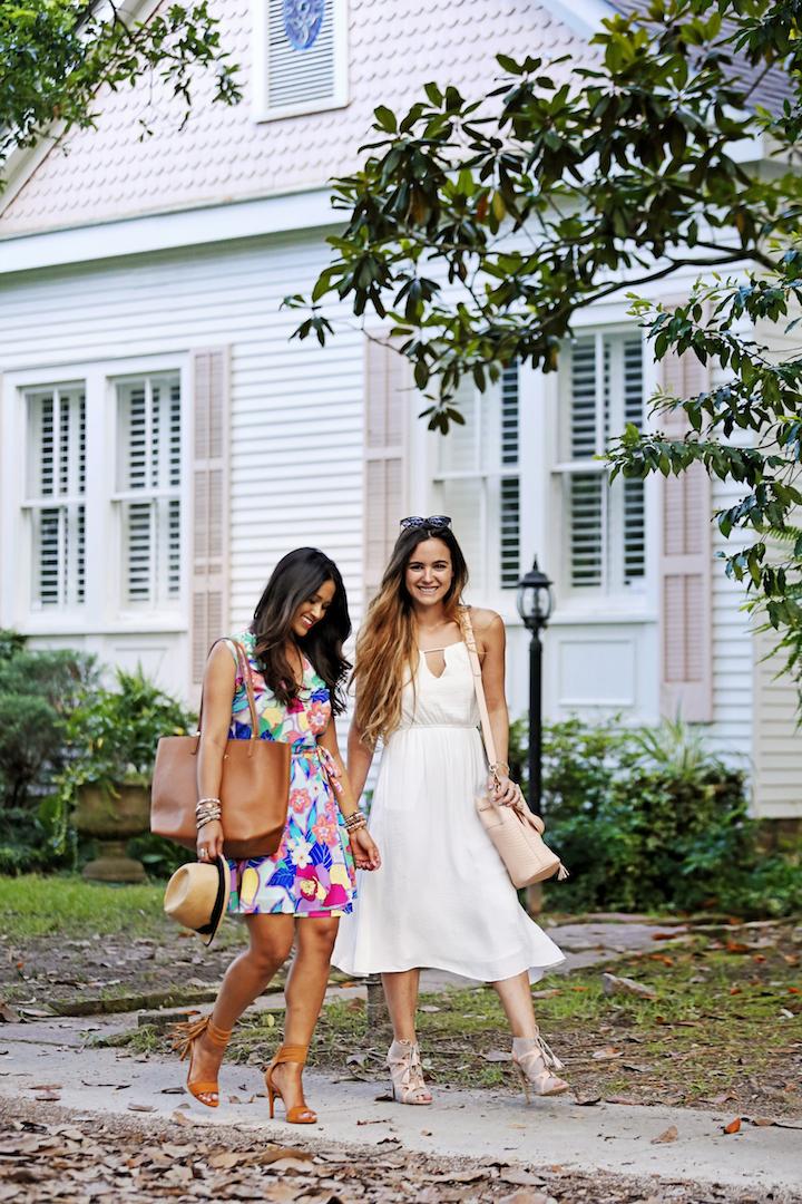 Louisiana-bloggers Wrap-dress