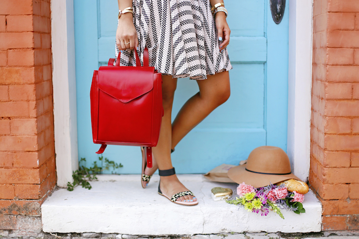 red-handbag