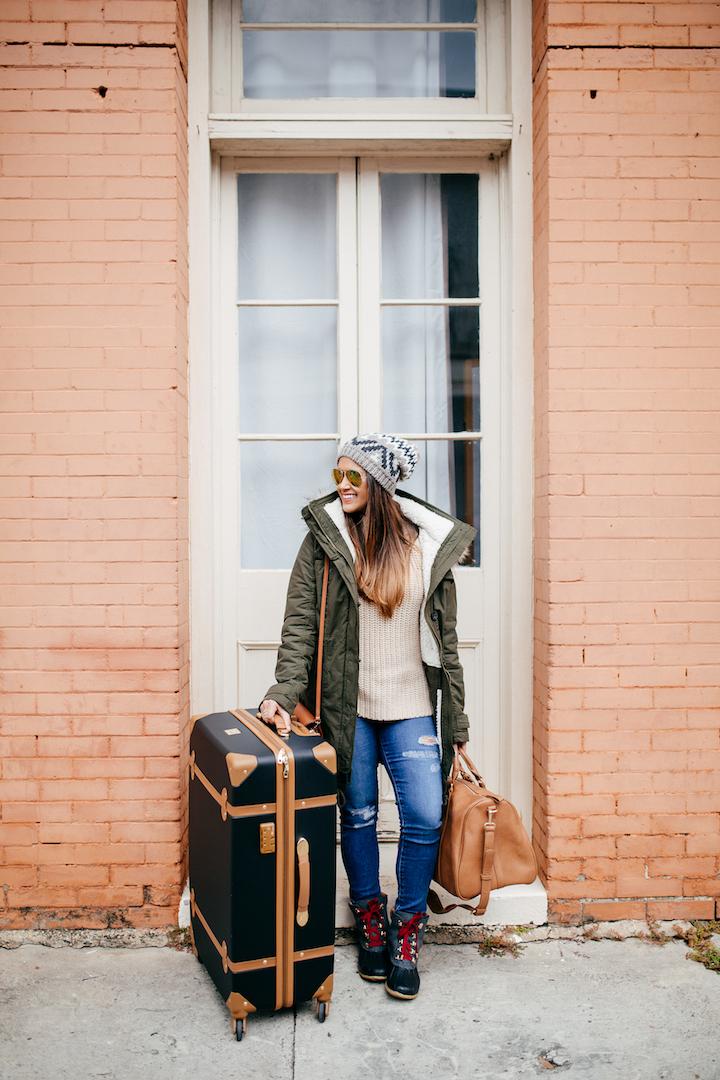 DVF-luggage