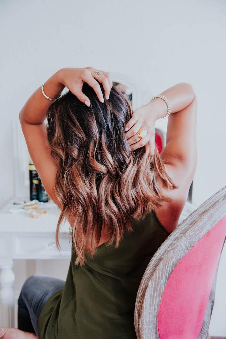 brunette-balayge