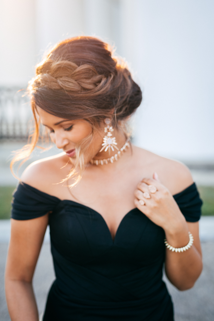 Holiday Party Style Glam Off The Shoulder Gown 183 Haute