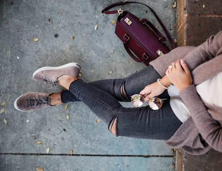 how-to-wear-sneakers