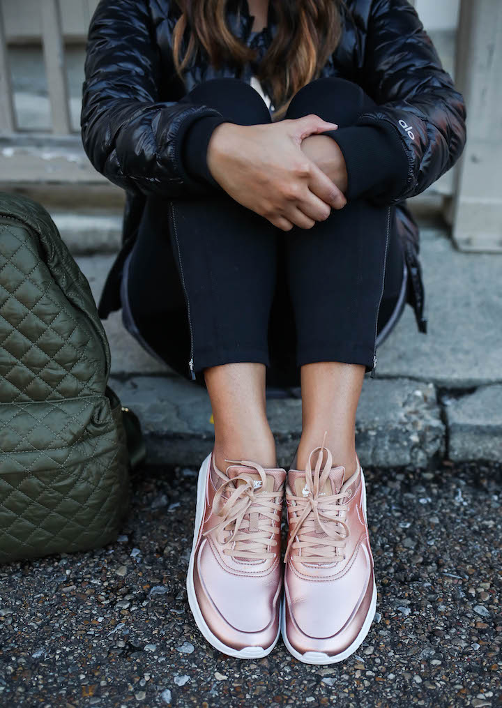 rose-gold-tennis-shoes