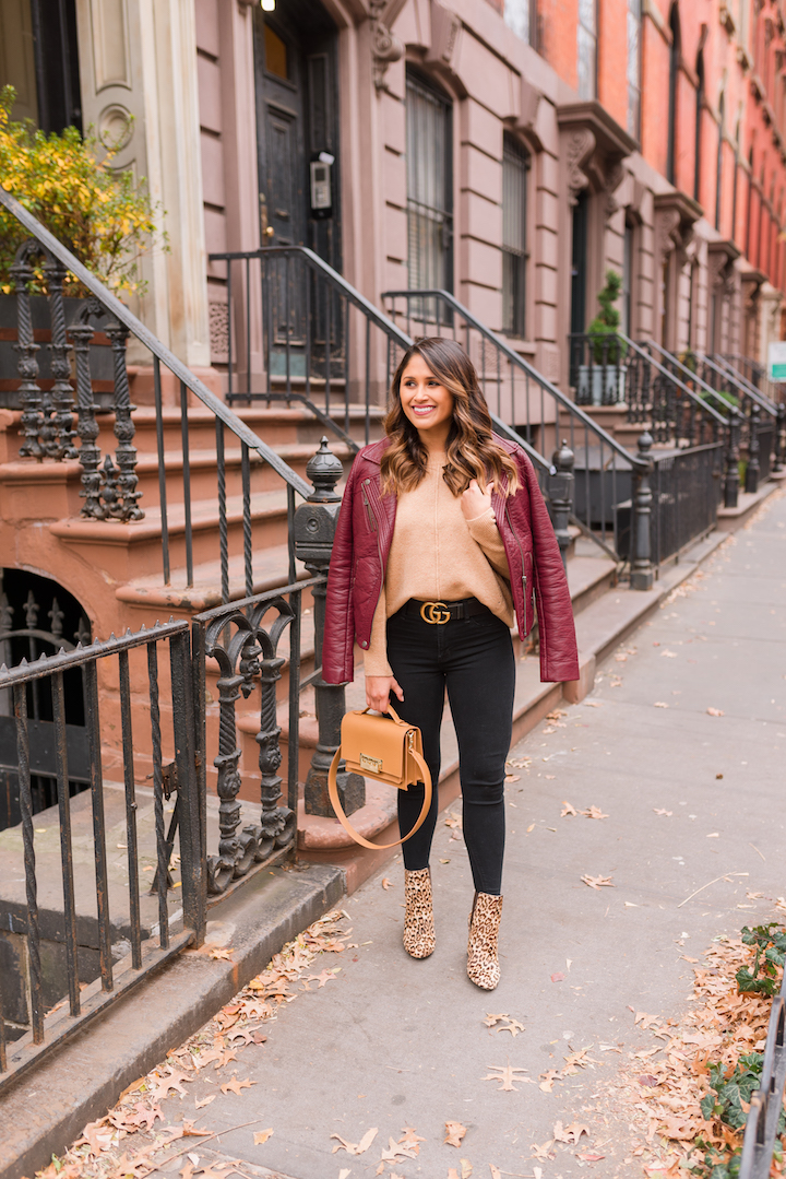 How to Style Leopard Print Booties