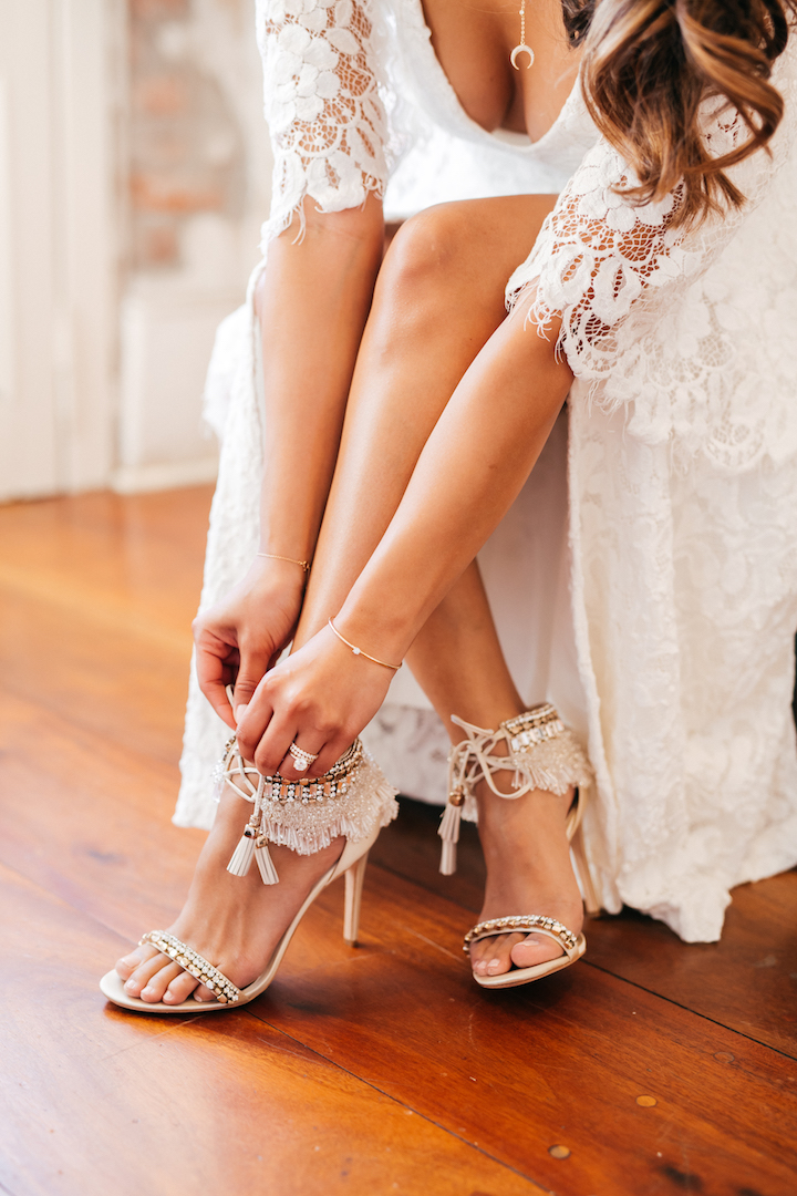 I Wore These Shoes With A Boho Cape Dress For My Day After Photos And Also While In Cabo See The Full Post Here 3 Tips Choosing Wedding Bands