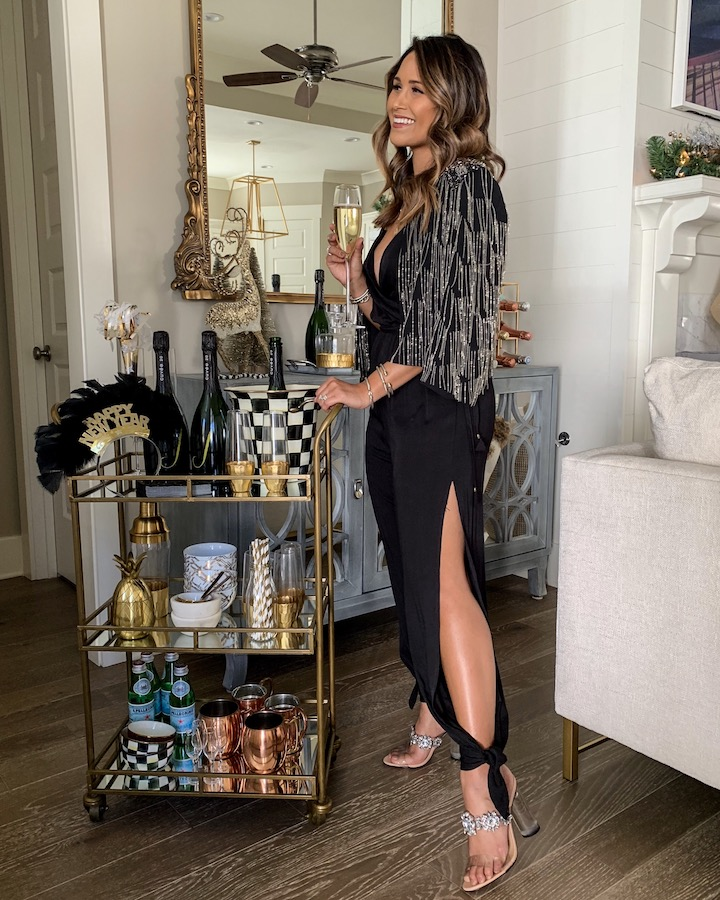 a0f6b895c6bc Today (12 26) is the last day to order this black jumpsuit to arrive in  time for New Year s Eve. Take 20% OFF with code  JENNIFER20