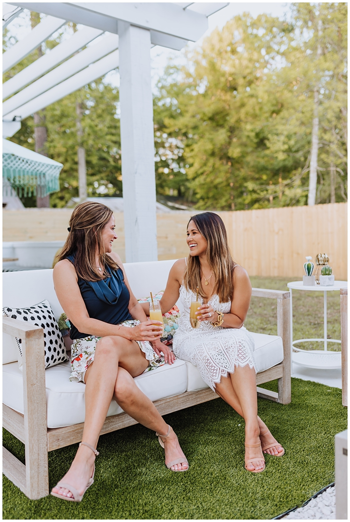 How To Create An Outdoor Drink Station Haute Off The Rack