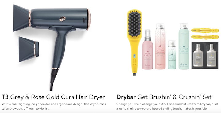 drybar hair products