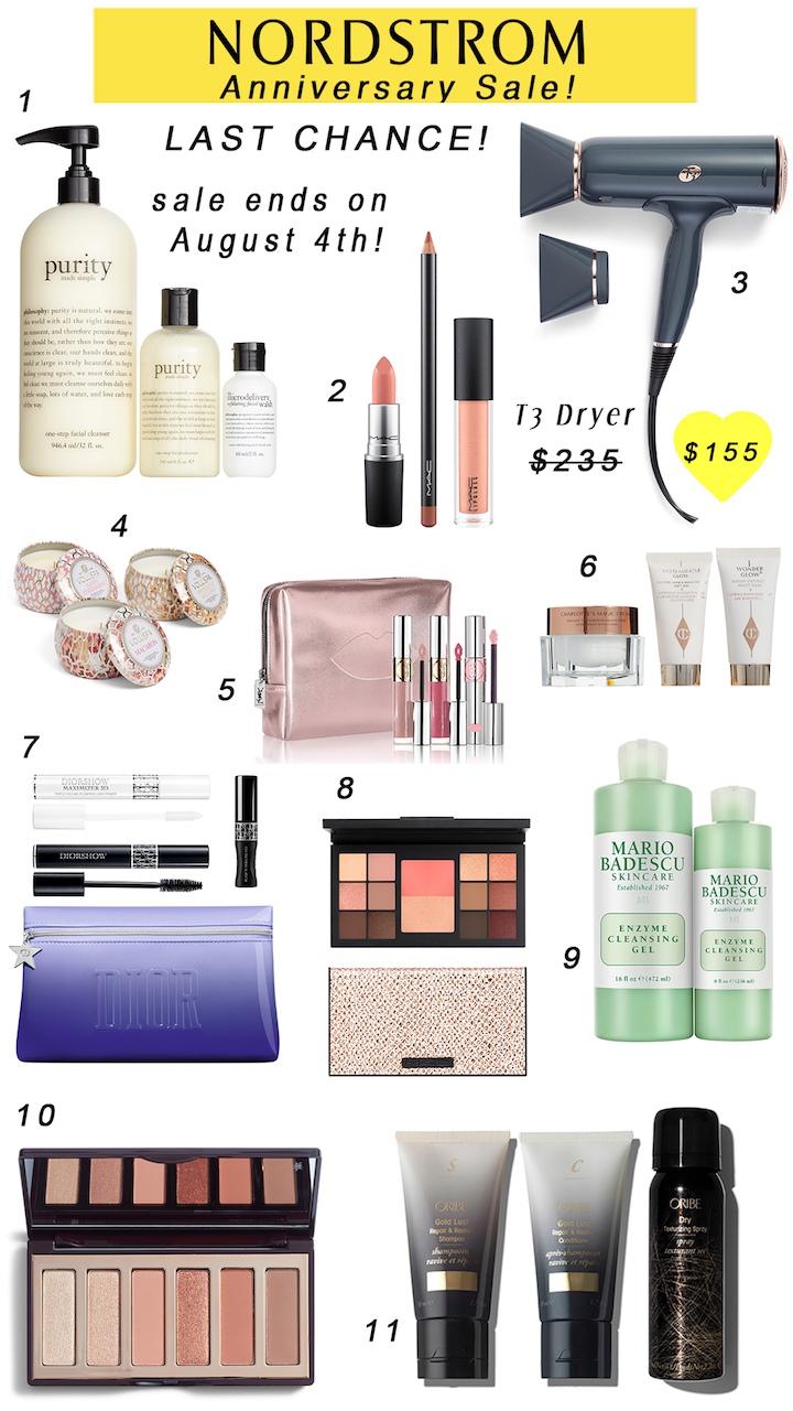 nordstrom sale beauty products