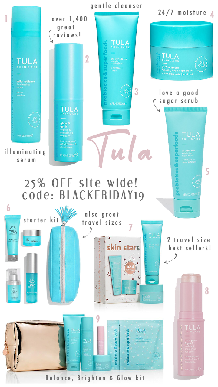 tula beauty products