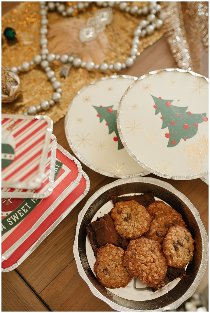 holiday cookie containers