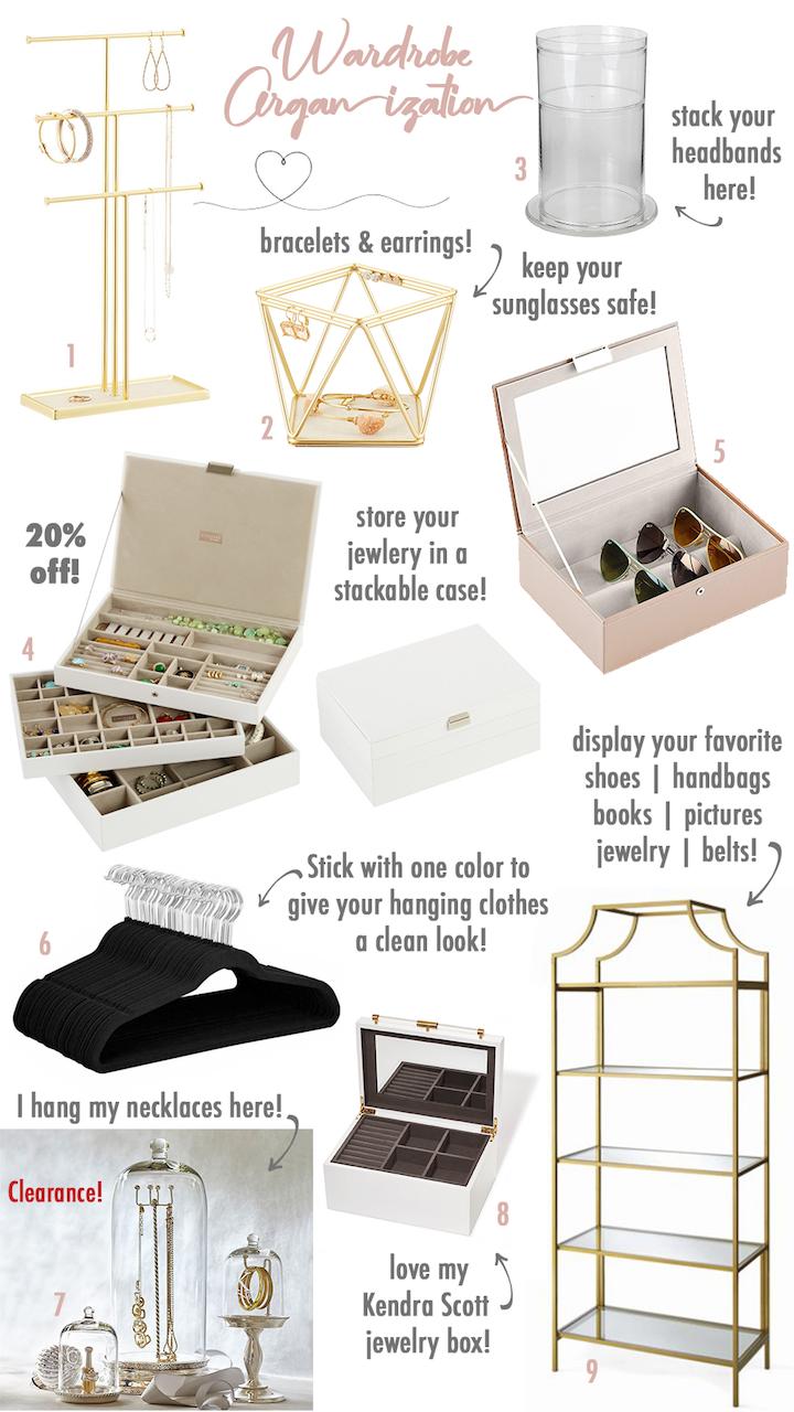 wardrobe organization products
