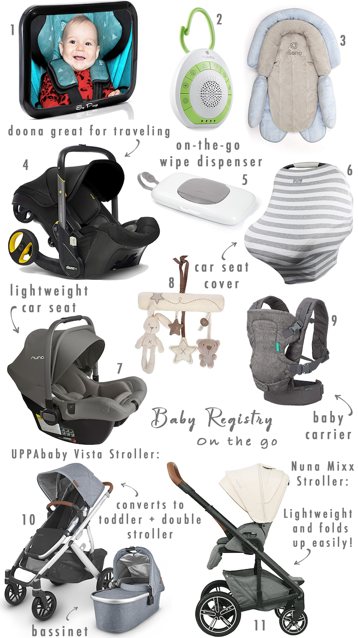 baby registry items