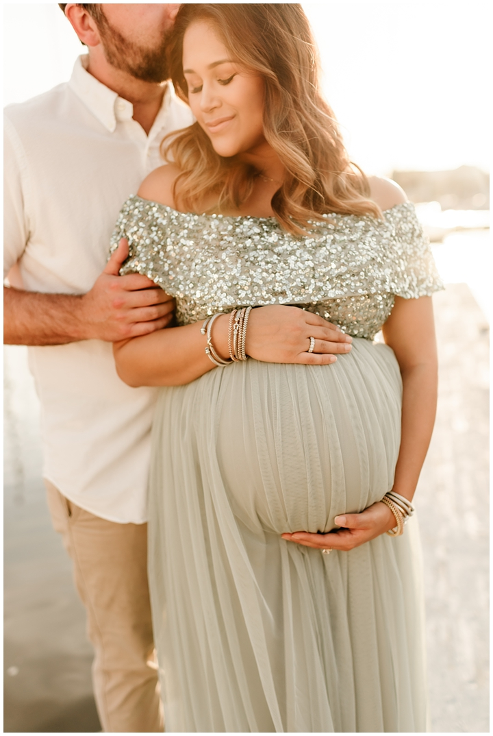 tulle maternity dress