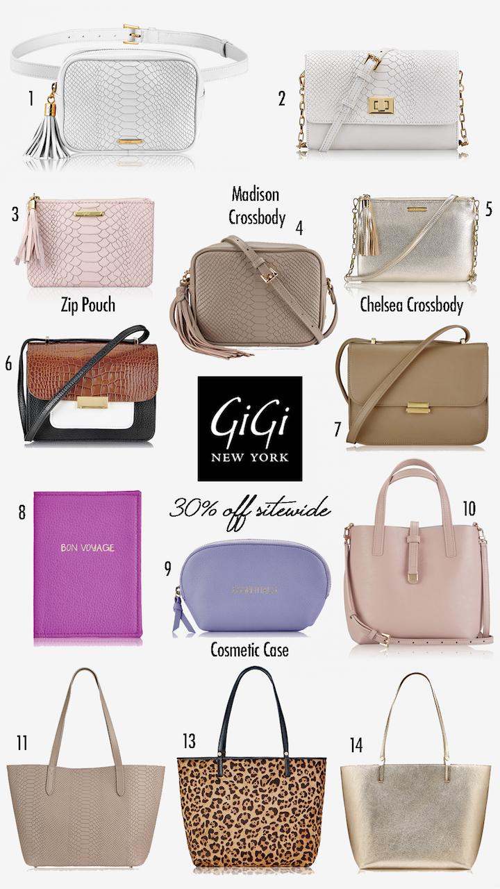gigi new york sale bags