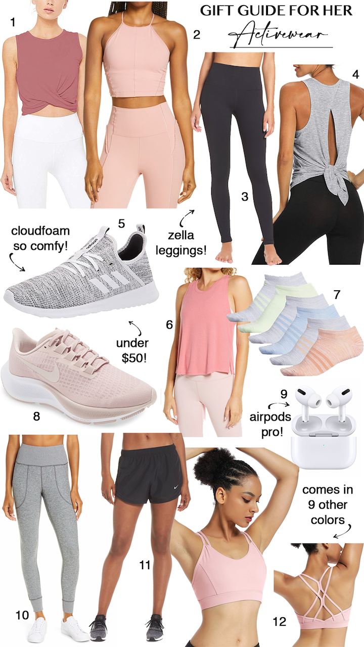activewear gift ideas