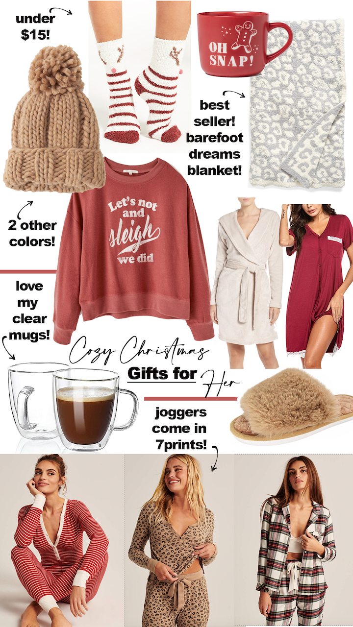 cozy christmas gifts for her