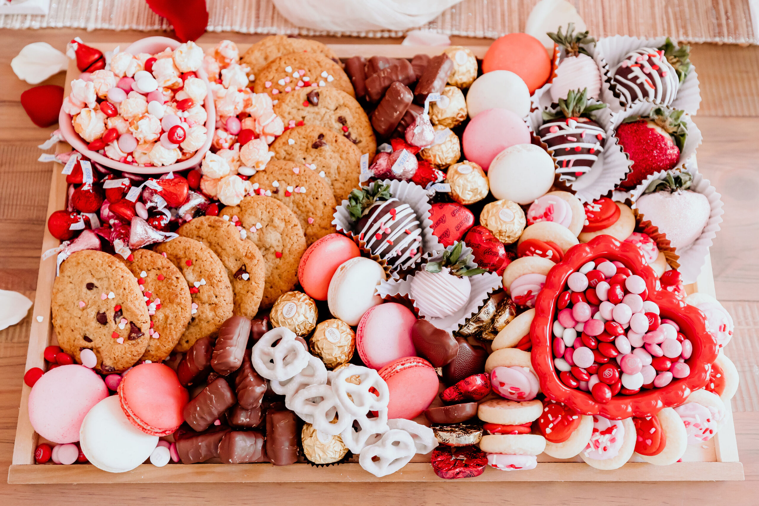 valentines day candy board