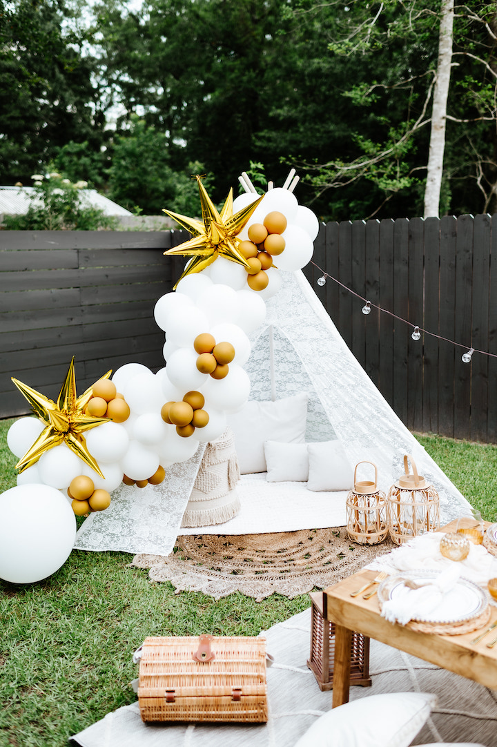 party teepee