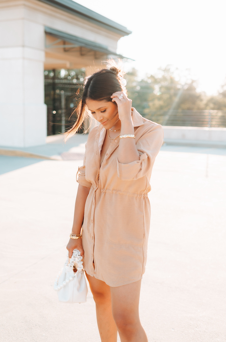 shirt dress outfit